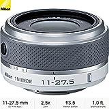 Nikon 1 NIKKOR 11-27.5mm f/3.5-5.6 Lens (White) (3322) - (Certified Refurbished)