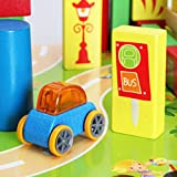 Children's Simcity Puzzle Blocks Traffic Scene Model Toys,118 Pieces Puzzle Type