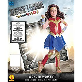 Rubie's Justice League Child's Wonder Woman Deluxe Costume, Small