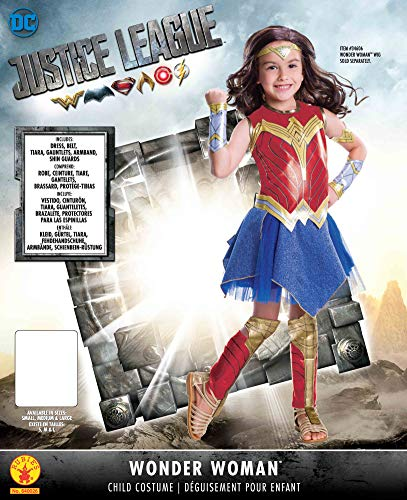 Rubie's Justice League Child's Wonder Woman Deluxe Costume, Medium - http://coolthings.us