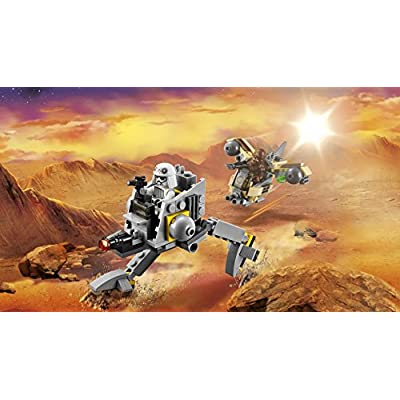 Lego, Star Wars Microfighters Series AT-DP (75130): Toys & Games