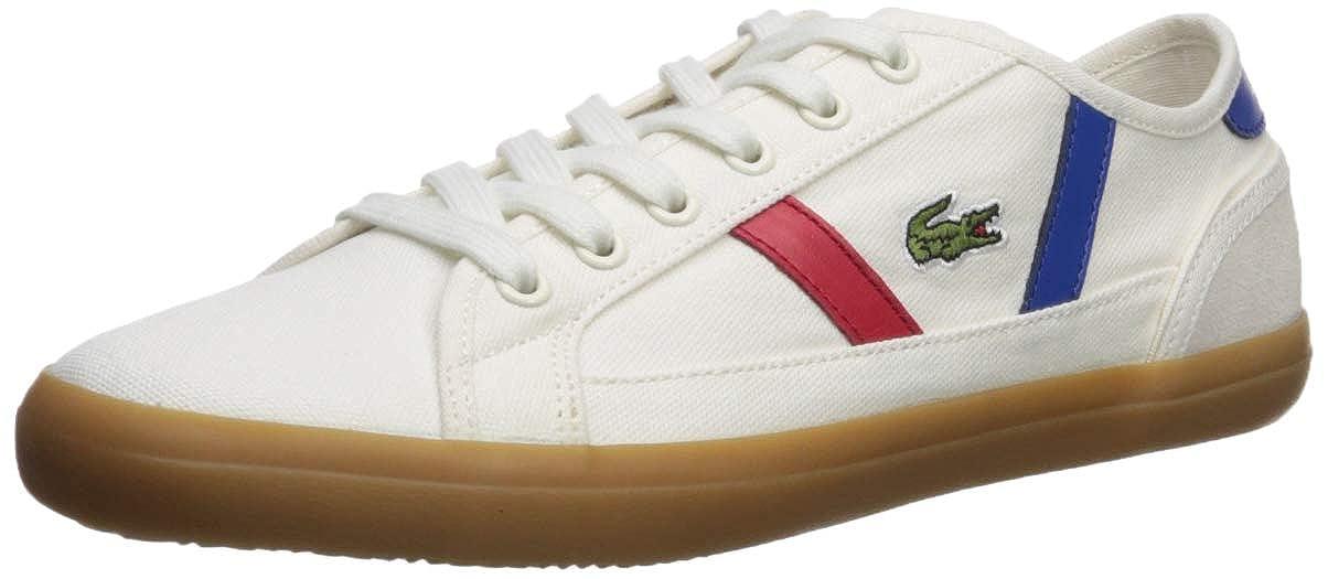 Off White Gum Lacoste Womens Sideline Sneaker