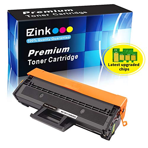 (E-Z Ink (TM) Compatible Toner Cartridge 2K Replacement for Samsung 111S 111L MLT-D111S MLT-D111L to use with Xpress SL-M2020W SL-M2024W Xpress SL-M2070W Xpress SL-M2070FW Printer (Black, 1 Pack))