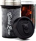 iced coffee cooler - Coldest Brew Iced Coffee Maker - Make Hot Coffee Into Ice Coffee In Minutes Without Dilution