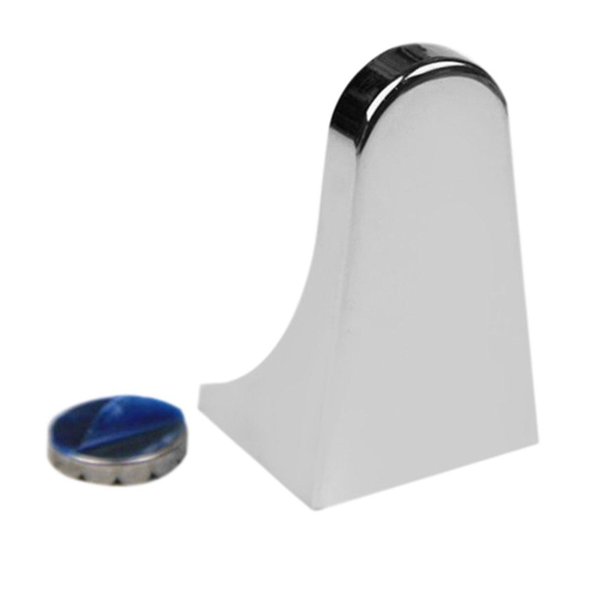 Colore: argento Gugutogo Pratico dispenser porta sapone magnetico in acciaio inox per uso domestico Portasapone dispenser per sapone a muro allegato