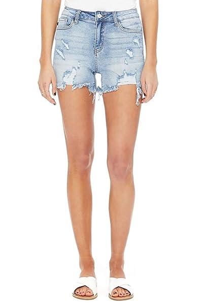 Amazon.com: Judy Blue Demasiado Cadera! Pantalones cortos de ...