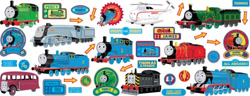Awesome Decofun, Thomas Wall Sticker Stikarounds Awesome Design