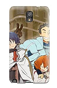 Tpu Case Cover For Galaxy Note 3 Strong Protect Case - Log Horizon Design