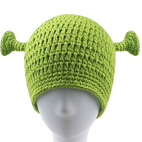 UnionPower Shrek Hats, Keep Warm in Winter, Adult Cosplay Halloween Cosplay, New Years Gift