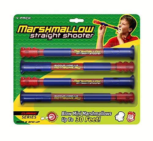 Blower Dishwasher (Classic Straight Shooter Marshmallow Shooter, 4 Pack)