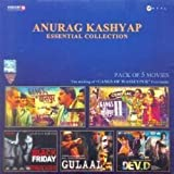 Anurag Kashyap Essential Collection (Set of 5 DVDs- Gangs of Wasseypur/Gangs of Wasseypur - 2/ Black Friday/Gulaal/Dev D)