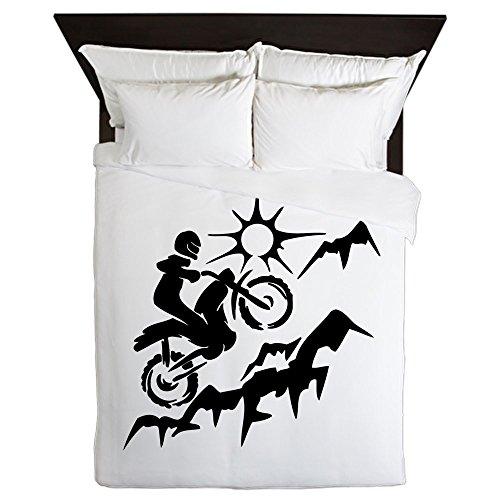 CafePress - Motorcross - Queen Duvet Cover, Printed Comforter Cover, Unique Bedding, Microfiber