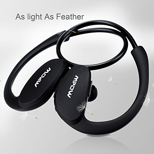 mpow cheetah bluetooth headphones v4 1 wireless sport headphones sweatproof running workout. Black Bedroom Furniture Sets. Home Design Ideas