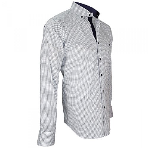 Camicia Fairway blu button Mc down Allister di Andrew zwUzr