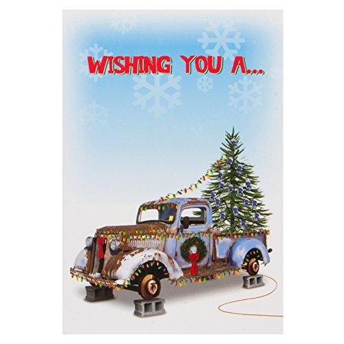 Old Glory - White Trash Christmas Card (Old Glory Stationery)