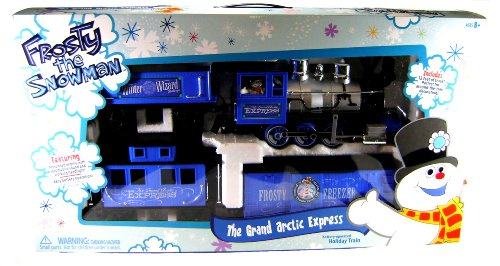 FROSTY THE SNOWMAN GRAND ARCTIC EXPRESS TRAIN SET G Scale Christmas Toy Large - Grand Snowman