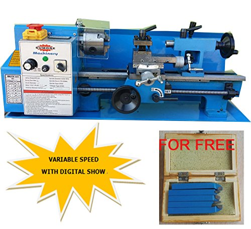 SUMORE 7x12 inch Mini Metal Lathe Machine SP2102+