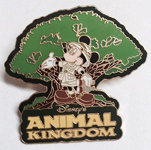 Safari Mickey with Animal Kingdom Tree Disney Pin