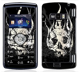 Guitar Skull Skin for LG enV3 enV 3 Phone