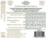 Complete Chamber Music, Vol. 1: Sextet for piano & winds / Sonata for oboe & piano / Trio for piano, oboe & bassoon /  Sonata for flute & piano / Villanelle