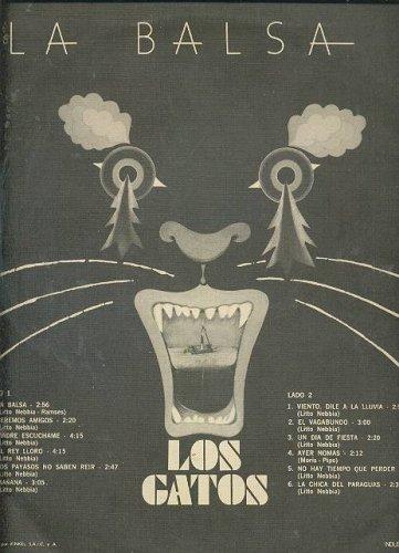 Los Gatos - LOS GATOS La Balsa LP Argentina Classic Rock - Amazon.com Music