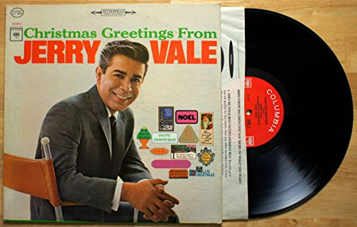 Merry Christmas Greetings (Christmas Greetings From Jerry Vale)