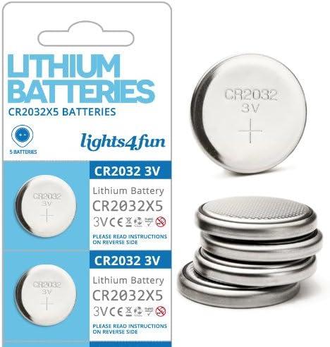 50er Pack Cr2032 Lithium Knopfzellen Batterien Elektronik