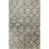 Bashian GREENWICH HG265 Collection Hand Tufted Wool  amp; Viscose Area Rug, 8.6 #39; x 11.6 #39;, Sl