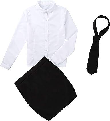 YOOJIA - Disfraz de Secretario de Oficina para Mujer con Falda y ...