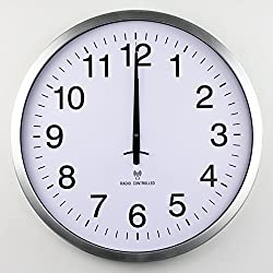wall clock bracket clock System clock horologe horologium quartz clock crystalSimple Radio Controlled Clock/Silent Watches Of Modern Fashion/Living Room Bedroom Office Creative Clock-A 20inch