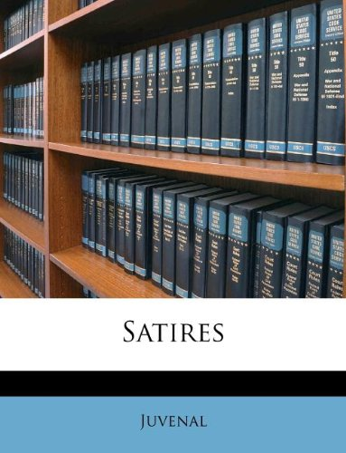 Satires pdf epub