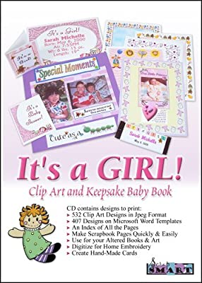 ScrapSMART - It's a Girl - Software Collection - Jpeg & Microsoft Word files [Download]