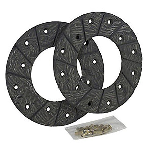 4298AA New Brake Linings w/Rivets Made for Case-IH Tractor Models S SC SO VA +