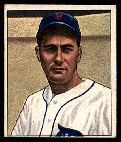 1950 Bowman #133 Don Kolloway Tigers MLB Baseball Card G Good