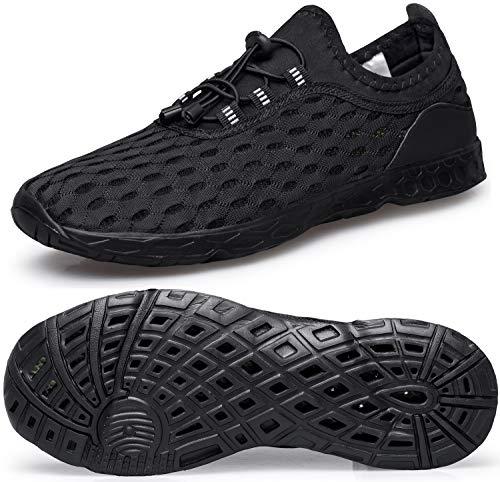 Shoes Swim Mens Athletic - DOUSSPRT Men's Water Shoes Quick Drying Sports Aqua Shoes