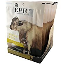Epic Hunt & Harvest, 100% Grass Fed, Beef Jerky, Mountain Medley Mix, 2.25 ounce, 8 Count