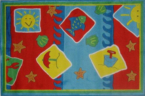 (Decorative Kid Rugs-Beach Blanket-Fun Rugs-39''x58