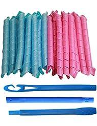 Pursuitlight Hair Curlers Barrel Curls Styling Kit 18...