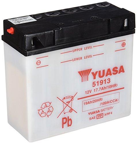 YUASA Batterij 51913 open zonder saeure