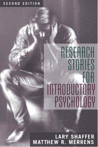 Research Stories for Introductory Psychology (2nd Edition)