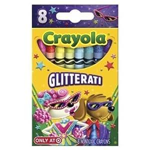 Crayola 8ct Pick your Pack Glitterati Crayons