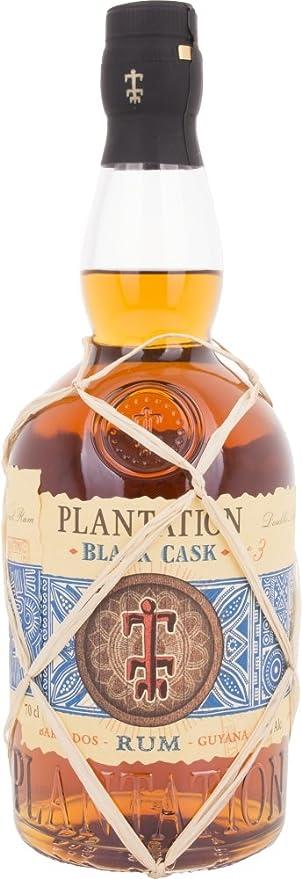 Plantation Barbados y Guyana Black Cask Ron - 700 ml