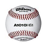 Wilson SST HS1 Baseball (12-Pack), White
