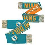 NFL Youth Boys Scarf-Aqua-1 Size, Miami Dolphins