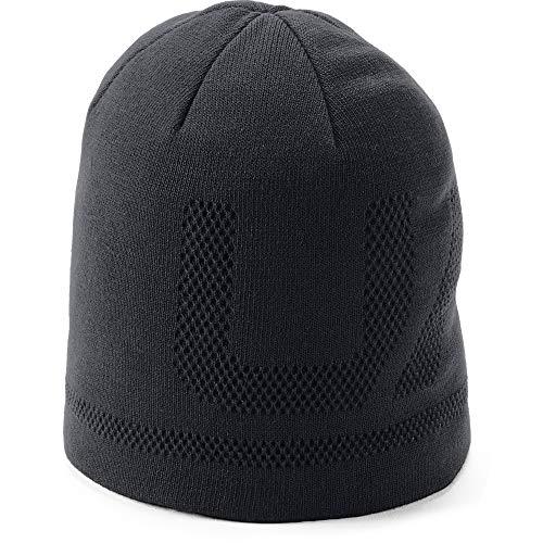 Under Armour Men's Billboard Beanie 3.0, Black (001)/Black, One Size Fits All