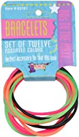 80's Color Rubber Bracelet Set