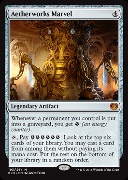 Amazon.com: Magic: the Gathering - Aetherworks Marvel (193/264 ...