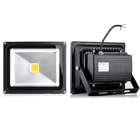 yunt 30 W SMD Foco LED IP65 Foco Luz Bombilla Foco Blanco ...