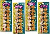 Cheap 28-Count Dingo Indulgence Mini Bones, Peanut Butter Flavor – (4 Packs with 7 Bones per Pack)
