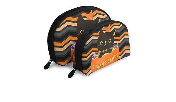 3e9b0fa7e97f Amazon.com: DHSJWIEU23 Halloween I Want Candy Portable Bags Clutch ...